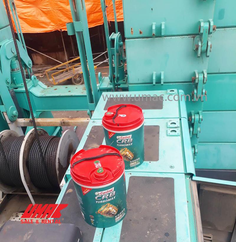 Bơm gas xe cẩu 180 tấn