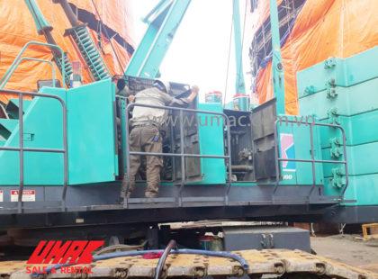 Bảo dưỡng xe cẩu 180 tấn