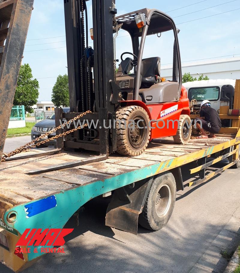 Vận chuyển xe nâng hàng cho thuê tại Hà Nam
