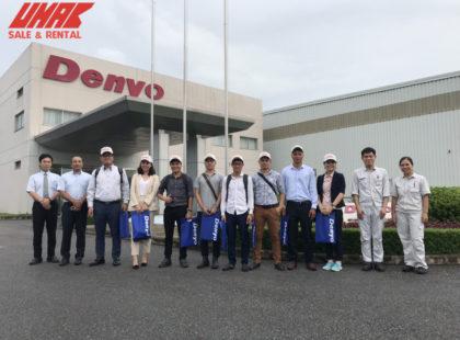 Umac Việt Nam hợp tac cùng Denyo Nhật Bản