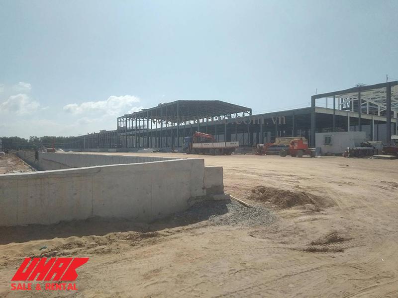 Dự án xây dựng nhà máy thực hiện đúng theo tiến độ bàn giao